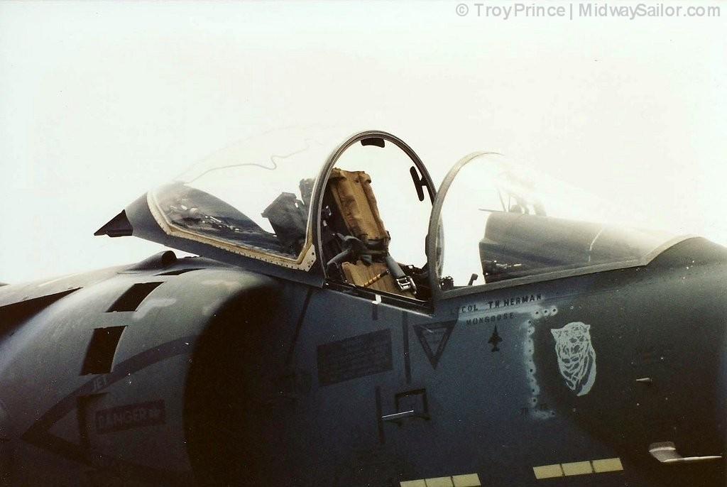 This The Aircraft Vma Ltcol Herman Call Sign Mongoose
