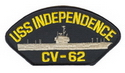 USS Independence Ballcap Patch