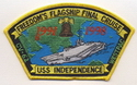 USS Independence Freedom's Flagship Final Cruise