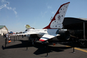 USAF Thunderbird F-16A Recruiting Vehicle